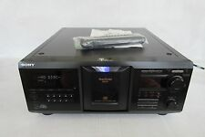 Sony CDP-CX455 Mega Storage 400 CD Compact Disc Player w/ Remote working