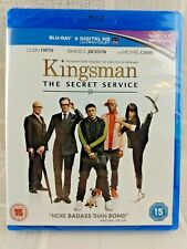 The Kingsman  The Secret Service - Blu-Ray  2015  NEW SEALED  UK  FREEPOST     9