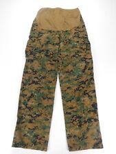 US Marine Maternity USMC Woodland Marpat MCCUU Camo Pants Trousers L Large Long