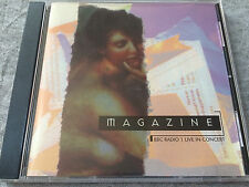 MAGAZINE - BBC Radio 1 Live In Concert CD New Wave / Post Punk