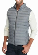 Saddlebred - Men's XXL - NWT $75 - Gray Light-Weight Packable Down Puffer Vest