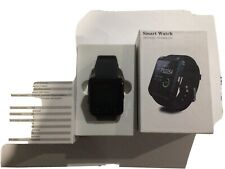 SMART WATCH WEARABLE TECHNOLOGY black new