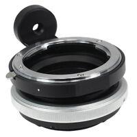 Tilt Objektiv-Adapter für Nikon F mount Lens auf Sony E NEX NEX3 NEX5 NEX7 NEX5N