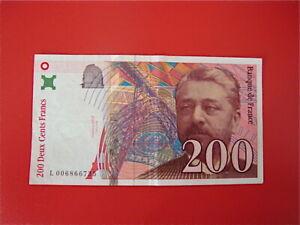 200   FRANCS   EIFFEL 1996