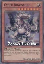 Yu-Gi-Oh ! Carte Cyber Dinosaure (par 2 !!)  SDCR-FR009 - Commune 1ère édition