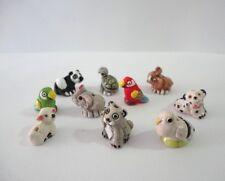 Lot 25 Mini Animal Peruvian Ceramic Bead Clay Mixed Model Handmade New Art Peru