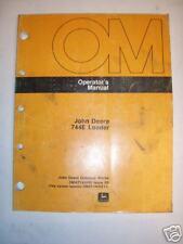 John Deere 744E Loader Operator's Manual