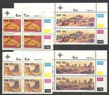 RSA/Afrique du Sud 1986 OR/MINING/bâtiments C/B n23786