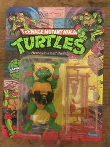 Playmates 1988 TMNT Raphael Action Figure in Original Packaging