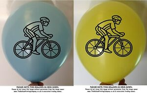 10 Cycling Balloons Adult Children Balloon Party Biking Bike Party Decoration
