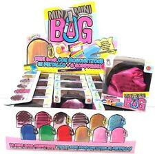 MINI MINI BAG CON MOSCHETTONE IN METALLO + 6 SORPRESE (colore casuale)