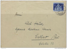 G)1936 GERMANY, PERU INBOUND FLIGHTS, CIRCULATED COVER FROM HEILBRONN TO CALLAS,