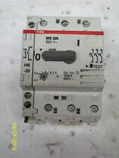 ABB MS325 MANUAL STARTER 4.0-6.3 A with AUXILIARY CONTACT