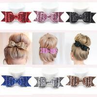 Fashion Women Hairpin Bowknot Barrette Crystal Hair Clip Bow Hair Accessories