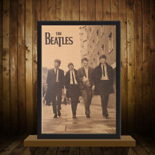 NEW THE BEATLES Retro Nostalgia Old Poster Bar Decorative Wall Stickers Painting