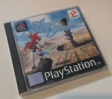 AZURE DREAMS Game For SONY PLAYSTATION 1 PS1 Complete KONAMI