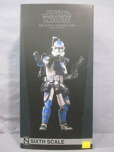 Star Wars ARC CLONE TROOPER FIVES PHASE II ARMOR w/ Box 2015 Sideshow 1:6 Scale