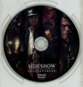 2008 Sideshow DVD Iron Man Star Wars Marvel SDCC Promo Video