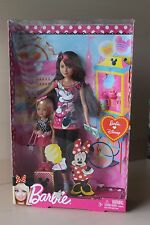 NEW RARE BARBIE LOVES DISNEY SKIPPER AND CHELSEA DOLL SET 2011 NRFB