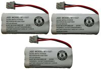 Uniden BT-1021 BT1021 High Capacity Replacement Cordless Phone Battery (3-Pack)