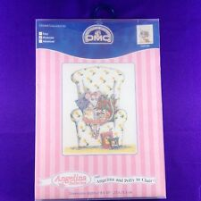 "DMC Counted Cross Stitch Kit ""Angelina And Polly In Chair"""