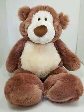 """Gund Alfie Stuffed Toy Animal Plush Tan Brown Teddy Bear 19"""" Super Soft & Cuddly"""