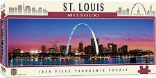 St. Louis Missouri 1000 piece panoramic jigsaw puzzle  990mm x 330mm  (mpc)