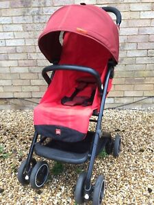 gb Qbit Buggy Red. 0-4 Years. Light Weight. Compact.