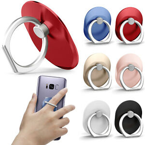 Universal 360 Rotating Finger Ring Stand Holder For Cell Phone iPhone Galaxy