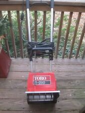Vintage Toro Snow Blower Electric