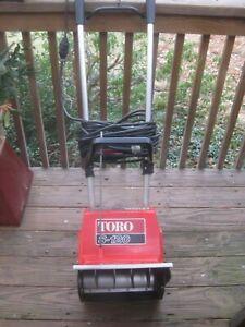 Toro Snow Blower Electric