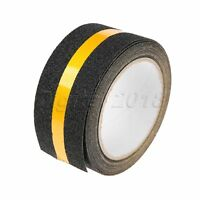 """Anti-Slip Yellow Reflective Tape Roll Weather Resistant Indoor Outdoor Use 2""""×5M"""