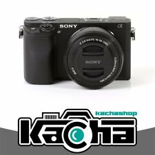 SALE Sony Alpha a6300 Mirrorless Digital Camera with 16-50mm Lens Black