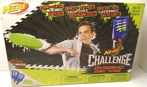 Nerf Sports Challenge Dynamo Disc Toss Age 6 And Up New