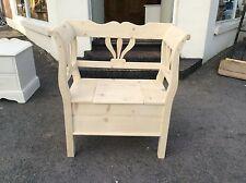 Pine Box settle/ Bench Storage