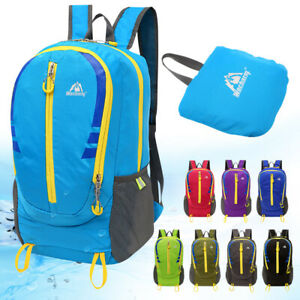 Foldable Ultralight Backpack Outdoor Daypack Hiking Cycling Travel Rucksack Bags