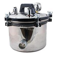 8L DENTAL Steam Autoclave Sterilizer sterilization  lab Equipment portable easy