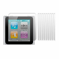 12 pk LCD Screen Protective Protector for iPod Nano 6th Gen Cover Crystal Clear