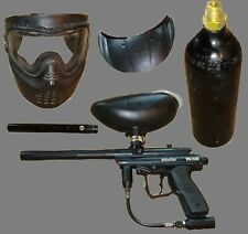 Spyder Victor Paintball Set (Incl. Hopper, Tank, Sniper Barrel, and Accessories)