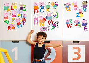 Kids Wall Stickers Nursery Wall Art Girls Boys Children Decals UK  ZH5