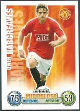 TOPPS MATCH ATTAX 2007-08-MANCHESTER UNITED-OWEN HARGREAVES