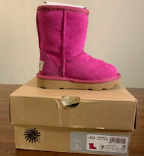 UGG TODDLER CLASSIC II SIZE 7 MAGENTA ROSE 1017703T TODDLER BOOTS AUTHENTIC NEW