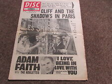 DISC Weekly Music Magazine 30/05/64  Great Period Pics and Articles - SEE PHOTOS
