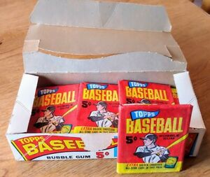 Rare 1965 TOPPS Mint Baseball Cards Original Pack of 5 W/Bonus Gold Embossed 4D