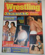 Pro Wrestling Illustrated Magazine Bob Backlund Fall 1984 022415r