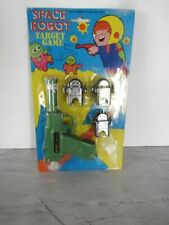 1970'S Space Robot Target Game Mint On Packaging In New Condition !