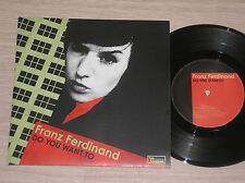 """FRANZ FERDINAND - DO YOU WANT TO / GET AWAY - 45 GIRI 7"""" COME NUOVO (MINT)"""