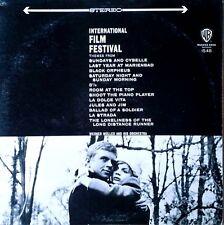 WERNER MULLER - INTERNATIONAL FILM FESTIVAL - WARNER BROS - STEREO LP (GOLD LBL)
