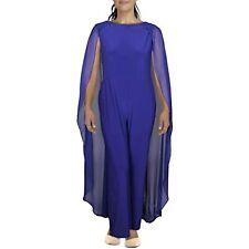 $210 Ralph Lauren Womens Hollie Capelet  Jumpsuit Size 14 (Defects)
