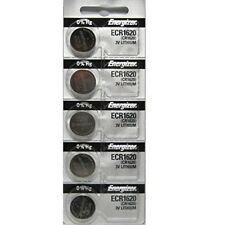 5 pcs Energizer CR1620 ECR1620 CR 1620 3v Battery